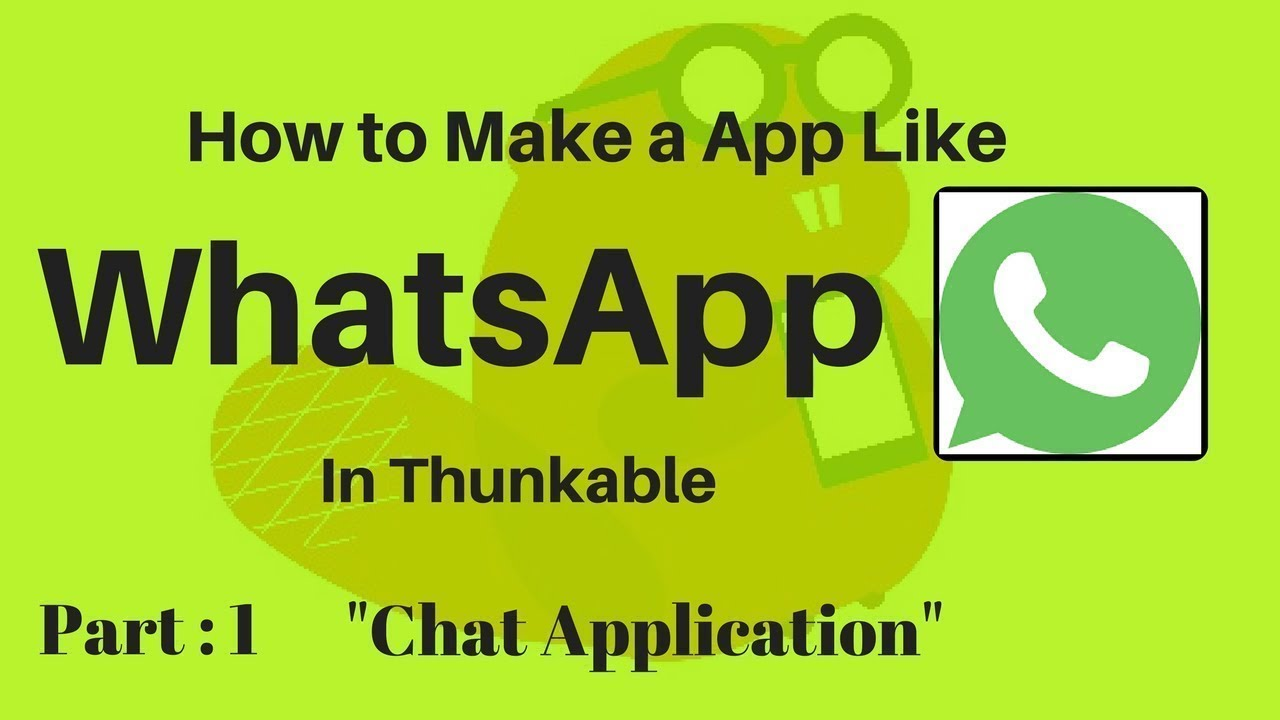 WhatsApp Status Saver App In Thunkable    First on YouTube    aia file link  in video   