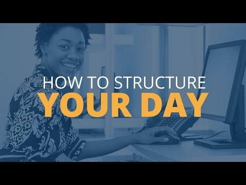 Tips to Structure Your Day | Brian Tracy