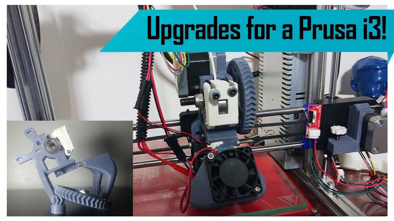 Upgrades for a Prusa i3 3D Printer