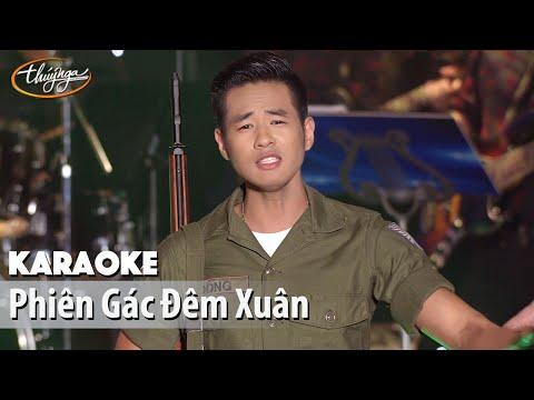 Karaoke | Phiên Gác Đêm Xuân (Khải Đăng)