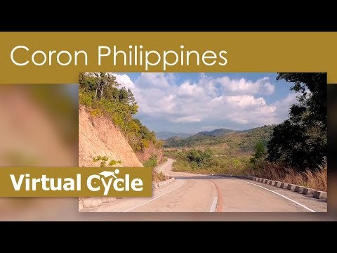 Virtual Cycle Ride -  Coron,  Philippines With Local Binaural Sounds