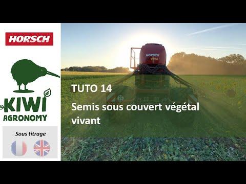 Horsch academy : semis sous couvert végétal avec l'avatar (sous-titre français, english subtitle)