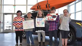 Klamath Falls Subaru Share the Love Donation