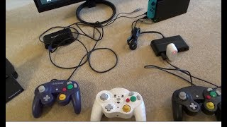 2x GameCube Adapters working on the Nintendo Switch (8 Player)