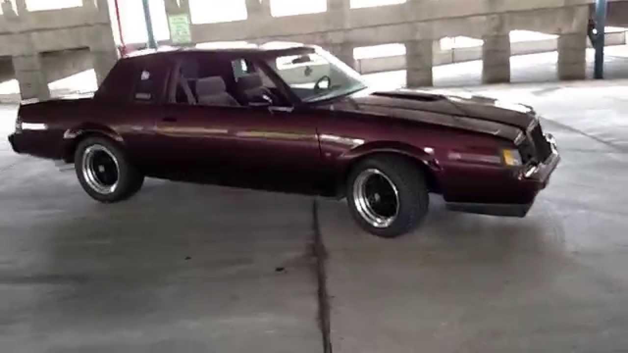 1987 Buick Turbo T 4.5 walk around - YouTube