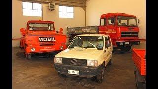 Appassionati mettono in piedi un GARAGE Storico di veicoli comunali a MONTECCHIO Maggiore Vi
