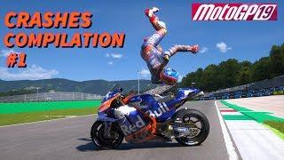 MotoGP 19 | CRASHES COMPILATION #1