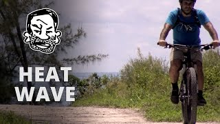 how to mtb in hot weather