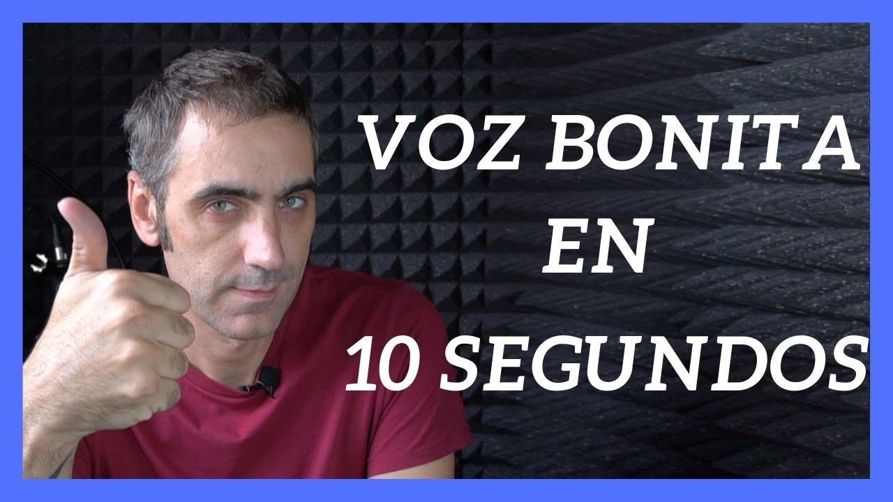 Como Tener Una Voz Bonita En 10 Segundos Garantizado Youtube