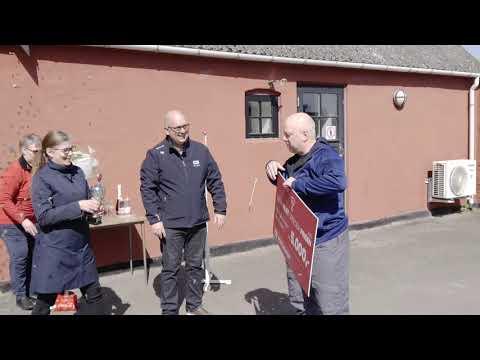 Henrik Madsen fik Super-Gejst-Spreder-Prisen på Bornholm