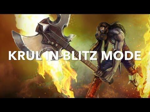 Vainglory Blitz Mode - Ep 2 : Krul WP Build