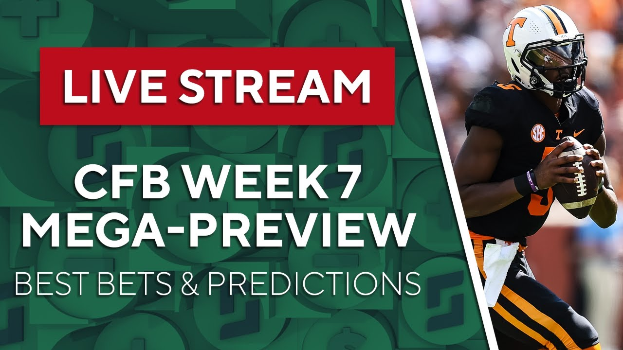 Download College Football Week 7 Best Bets, Picks & Predictions! | The Early Edge