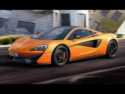 2017 McLaren Sedan Car Classification