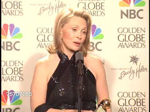 Faye Dunaway Interview 1999 Golden Globe