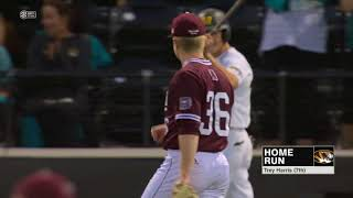 HIGHLIGHTS: Mizzou Baseball defeats Missouri State 8-2