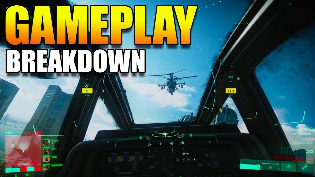 Battlefield 2042 Gameplay Breakdown | *NEW* Battlefield 2042 specialists, Maps, Vehicles