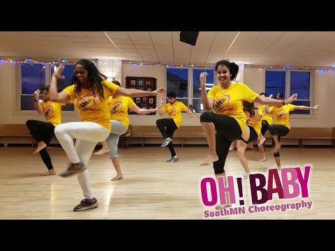 Oh Baby | Dance Cover | SaathMN Choreography | Telugu Movie | Samantha Akkineni