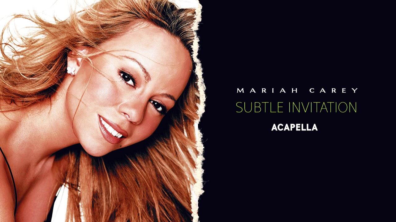 Mariah carey subtle invitation lead vocals youtube mariah carey subtle invitation lead vocals stopboris Image collections