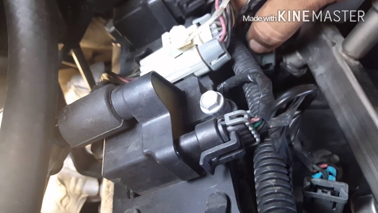 maxresdefault how to install knock sensors on a chevy 99 06 youtube Chevy Engine Wiring Harness at crackthecode.co
