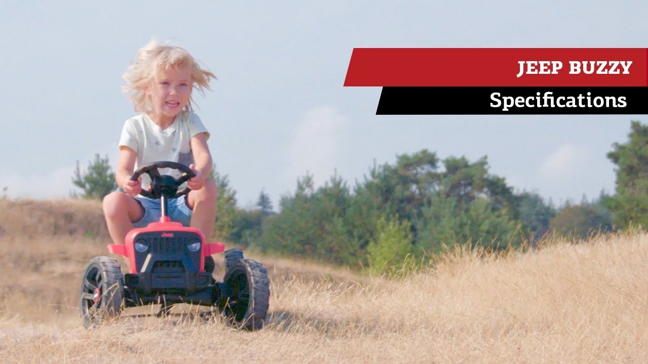 BERG JEEP Buzzy pedal-gokarts | specifications