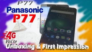 Panasonic P77 Unboxing & First Impression | Budget 4G VOLTE Smartphone Under 5K | Data Dock
