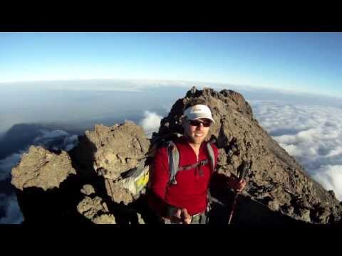 Climbing Mt. Meru, Arusha National Park, Tanzania.