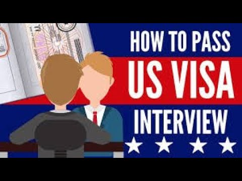 USA VISA INTERVIEW TIPS | MUST WATCH BEFORE YOU GO FOR YOUR  INTERVIEW FOR NON-IMMIGRANT US VISA