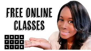 FREE ONLINE CLASSES || CREATIVELIVE REVIEW