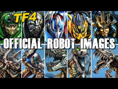 OFFICIAL Transformers character images REVEALED!! - [TF4 ...