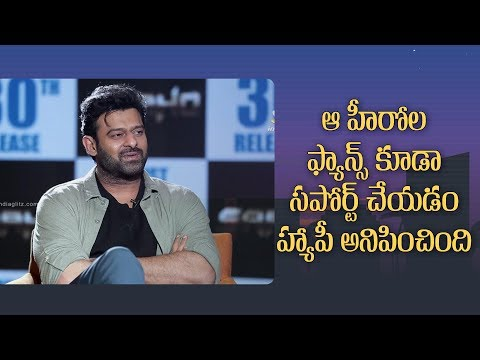 Prabhas on support from other heroes'' fans & why Saaho climax sequence has costed Rs 70 crores