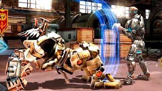 REAL STEEL WRB Tri Gore VS Danger Zone & Atom & Tackle & Blockbuster