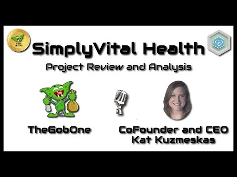 SimplyVital Health - ICO review with CEO Kat Kuzmeskas!