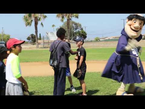 San Diego Padres visit Camp Pendleton