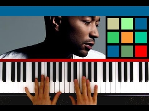 How To Play All Of Me Piano Tutorial Sheet Music John Legend