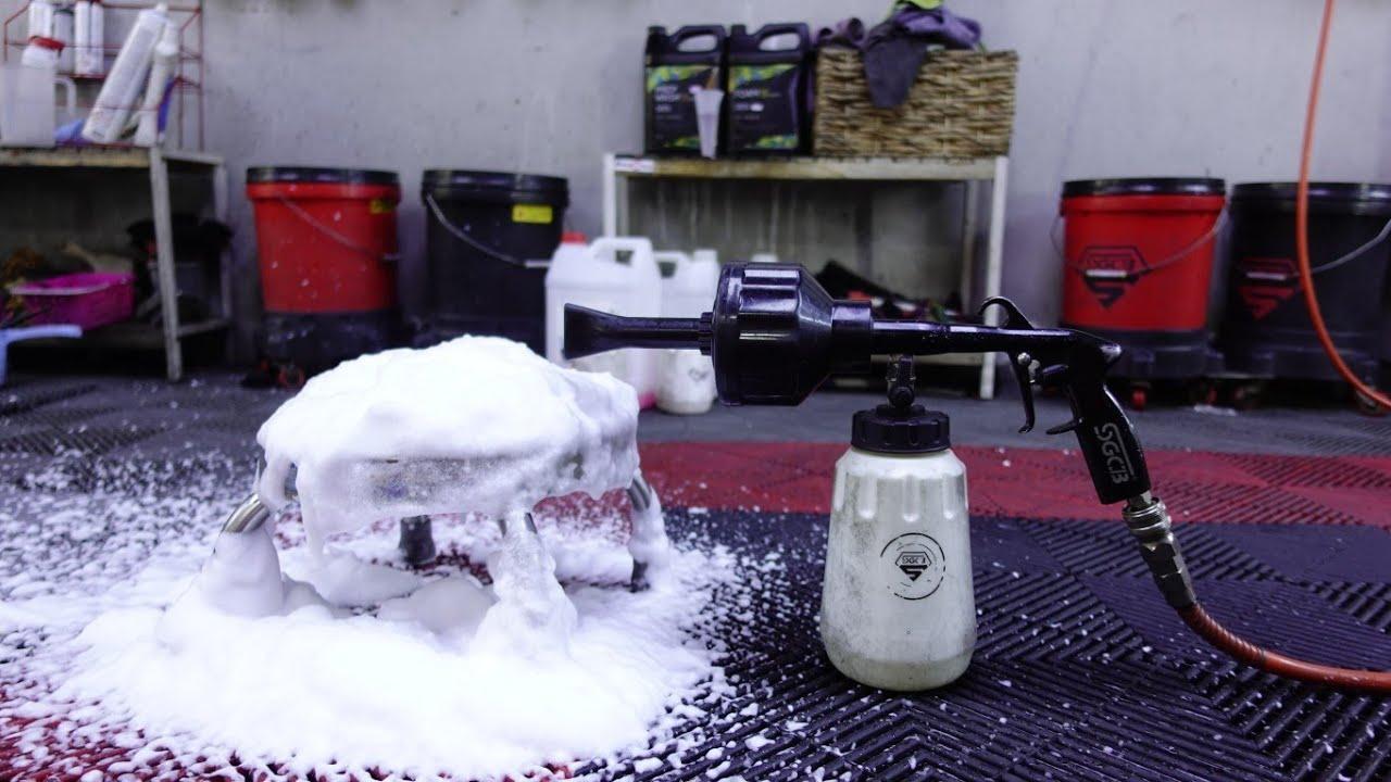 Review Súng tạo bọt tuyết bằng hơi SGCB liệu có đáng mua ?? Hoan1208