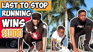 Last To Stop Running Wins $1000!!!