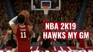 NBA 2K19 Hawks MyGm Ep : 12 - Wrapping Up The Regular Season