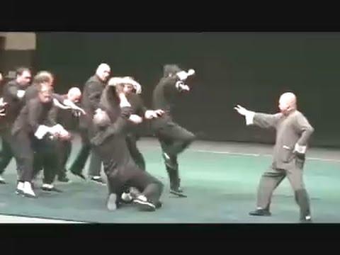 Chi explosion ( Tai Chi Chuan Yang style/Master Chu King Hung)
