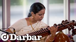 Carnatic music by Jayanthi Kumaresh | Raga Kapi - Thillana part 2