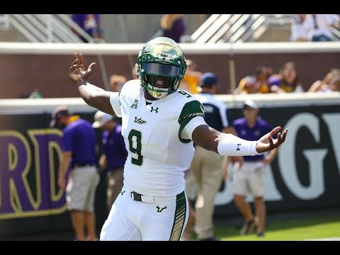 Football Highlights - #18 USF 61, ECU 31