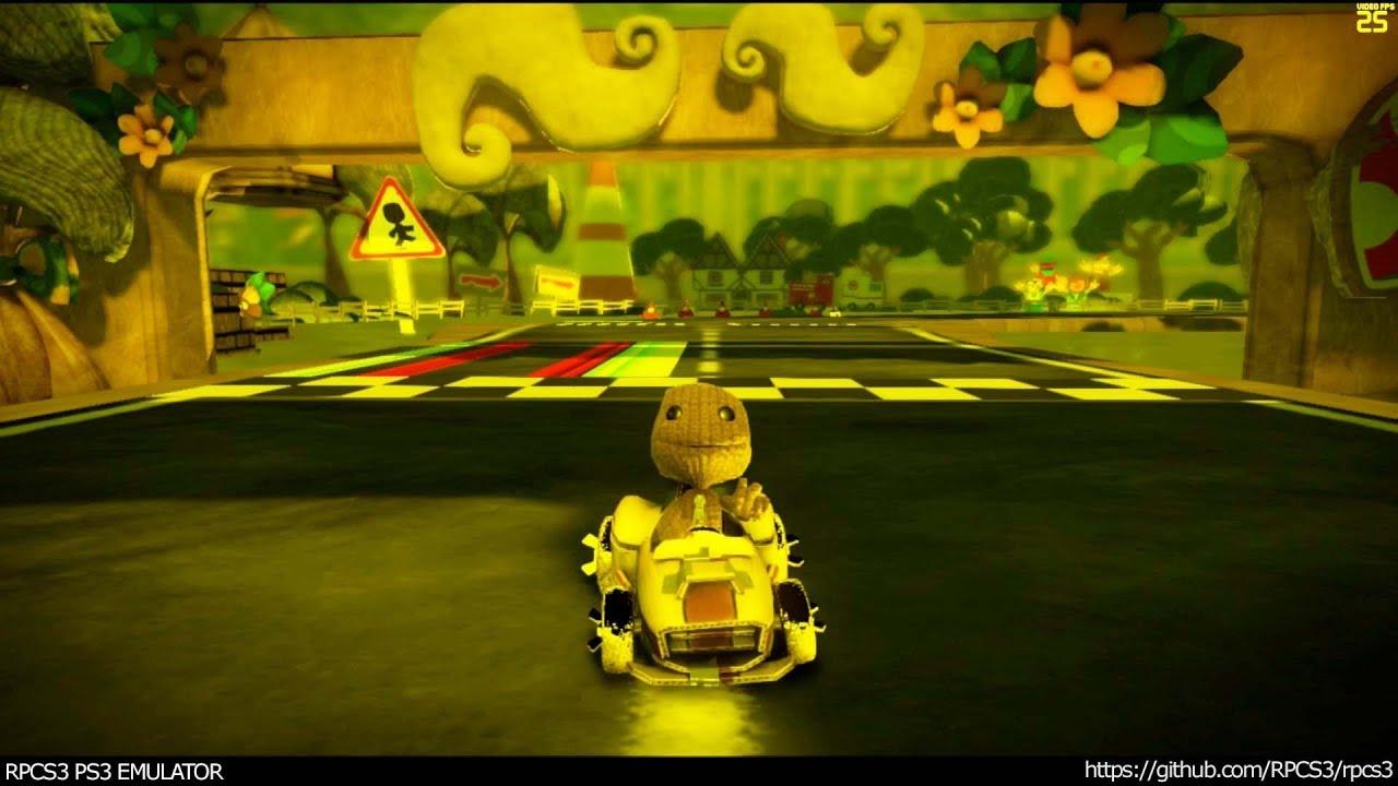 RPCS3 PS3 Emulator - Little Big Planet Karting Ingame! VULKAN  (334327d+Jarve's fixes WIP) LLVM