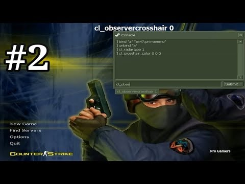 Counter Strike 1.6 Console Commands   Tutorial - 2