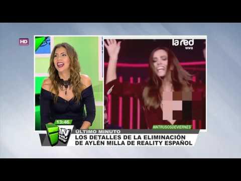 """¿Será todo concertado? El """"desperfecto"""" estético que tuvo Aylén Milla en reality show español"""