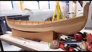 Construction D Un Bateau Viking Modele Reduit Youtube