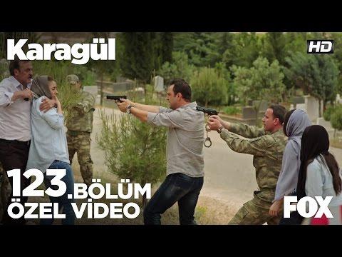 Kendal, Ebru'yu rehin aldı! Karagül 123.Bölüm