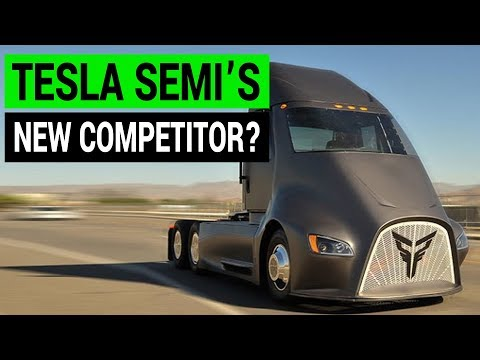 Tesla Semi Truck May Have a New Competitor in Thor ET-ONE