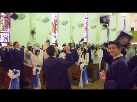 Vincent Memorial Catholic High School celebrates 2014 graduation