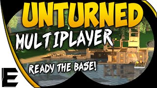 Unturned ➤ Multiplayer Gameplay - Building An Epic Base & Crafting - Ep.2