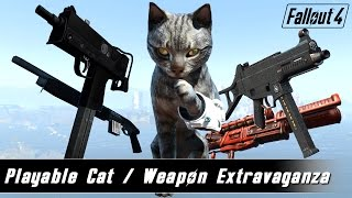 Fallout 4 Mods Week 4 - Playable Cat Weapon Extravaganza