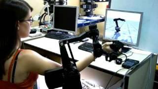 Simulación Esclavo Grips de Kraft Telerobotics.